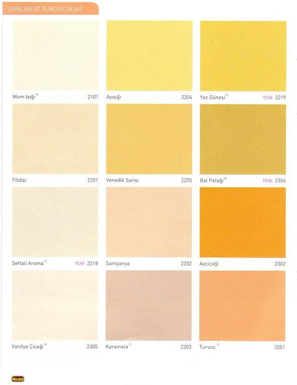 Boya Renkleri Uğur Yapı Malzemeleri